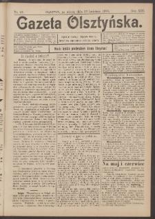 Gazeta Olsztyńska, 1898, nr 49