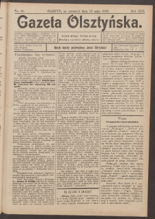 Gazeta Olsztyńska, 1898, nr 60