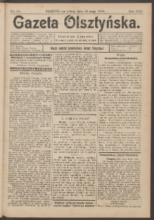 Gazeta Olsztyńska, 1898, nr 64