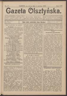 Gazeta Olsztyńska, 1898, nr 67