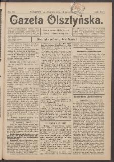 Gazeta Olsztyńska, 1898, nr 72