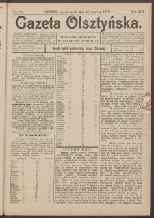 Gazeta Olsztyńska, 1898, nr 75