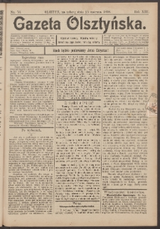 Gazeta Olsztyńska, 1898, nr 76