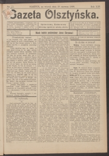 Gazeta Olsztyńska, 1898, nr 77