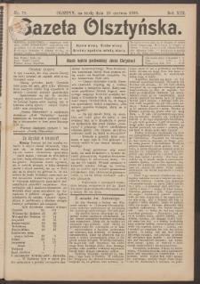 Gazeta Olsztyńska, 1898, nr 78