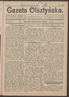 Gazeta Olsztyńska, 1898, nr 81