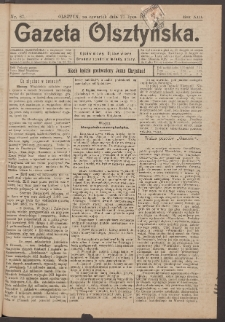 Gazeta Olsztyńska, 1898, nr 87