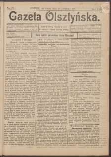 Gazeta Olsztyńska, 1898, nr 97