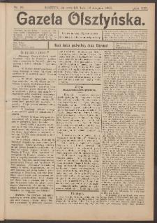 Gazeta Olsztyńska, 1898, nr 99