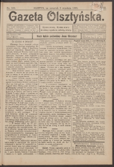 Gazeta Olsztyńska, 1898, nr 108