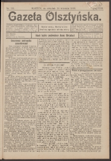 Gazeta Olsztyńska, 1898, nr 112