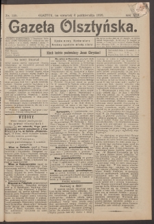 Gazeta Olsztyńska, 1898, nr 120