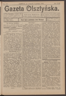Gazeta Olsztyńska, 1898, nr 147