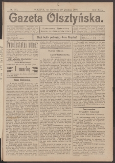 Gazeta Olsztyńska, 1898, nr 155