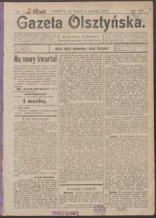 Gazeta Olsztyńska, 1899, nr 1