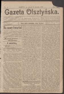 Gazeta Olsztyńska, 1899, nr 4