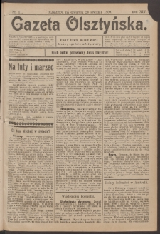 Gazeta Olsztyńska, 1899, nr 11