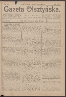 Gazeta Olsztyńska, 1899, nr 28