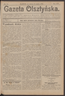 Gazeta Olsztyńska, 1899, nr 33