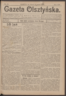 Gazeta Olsztyńska, 1899, nr 34