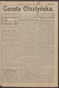 Gazeta Olsztyńska, 1899, nr 37