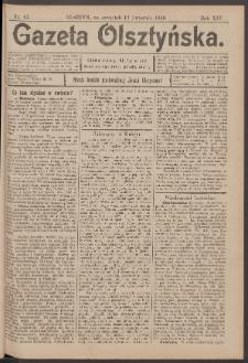 Gazeta Olsztyńska, 1899, nr 43