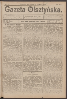 Gazeta Olsztyńska, 1899, nr 48