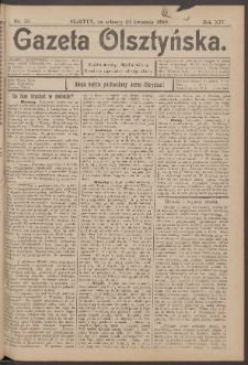 Gazeta Olsztyńska, 1899, nr 50