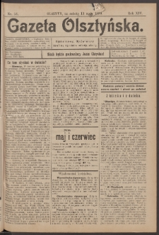 Gazeta Olsztyńska, 1899, nr 56