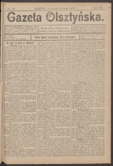 Gazeta Olsztyńska, 1899, nr 63