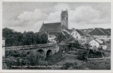 Seeburg, Ostpr. Hospitalbrücke u. kath. Kirche