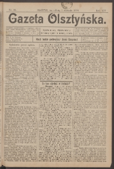 Gazeta Olsztyńska, 1899, nr 92