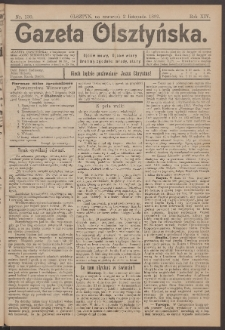 Gazeta Olsztyńska, 1899, nr 130