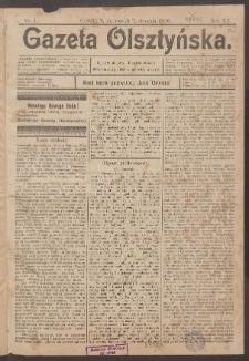 Gazeta Olsztyńska, 1900, nr 1