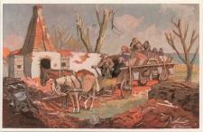 Ostpreußen während des Weltkrieges 1914/15 nach Orginalen von A. Kraska. Heimkehr