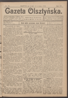 Gazeta Olsztyńska, 1900, nr 10