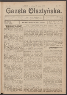 Gazeta Olsztyńska, 1900, nr 21