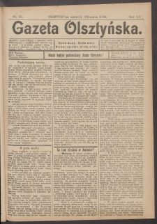 Gazeta Olsztyńska, 1900, nr 35