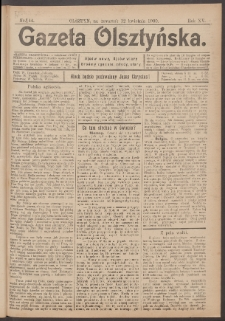 Gazeta Olsztyńska, 1900, nr 44