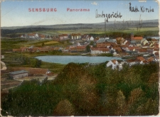Sensburg. Panorama