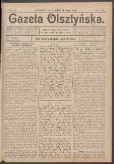 Gazeta Olsztyńska, 1900, nr 64