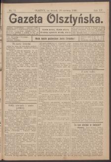Gazeta Olsztyńska, 1900, nr 71