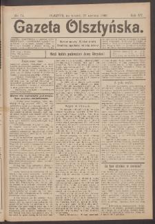 Gazeta Olsztyńska, 1900, nr 74