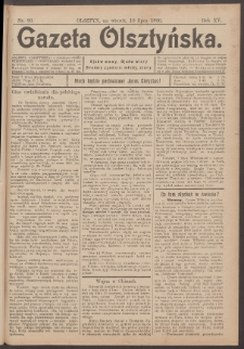 Gazeta Olsztyńska, 1900, nr 80