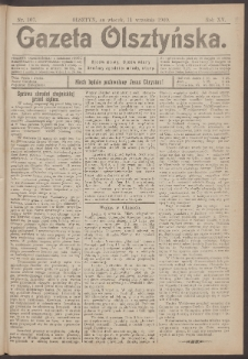 Gazeta Olsztyńska, 1900, nr 107
