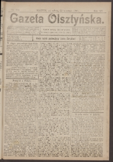Gazeta Olsztyńska, 1900, nr 112