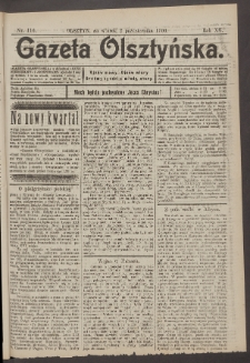 Gazeta Olsztyńska, 1900, nr 116
