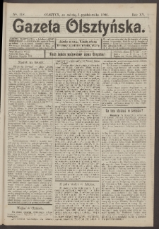 Gazeta Olsztyńska, 1900, nr 118