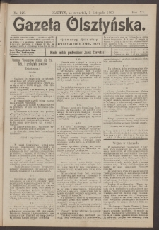Gazeta Olsztyńska, 1900, nr 129