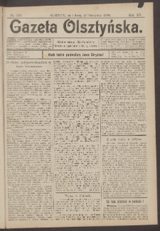 Gazeta Olsztyńska, 1900, nr 139